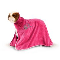 Show Tech Dry Dude Hot Pink Pet Towel for Dogs