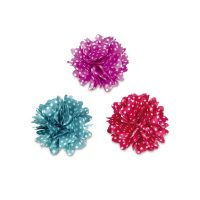 Aria Dot Rose Bows - Pack of 6