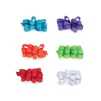 Aria Grosgrain Barrettes - Pack of 6