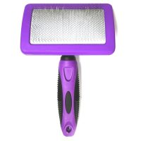 iGroom SureGrip Curved Slicker Brush