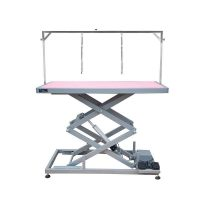 Groom Professional Everest Tall Electric Table - Pink