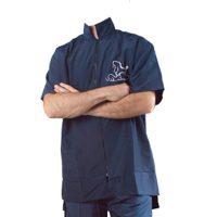 Precious Work Shirt - Navy Blue