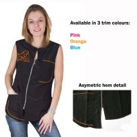 Carina Sleeveless Work Shirt