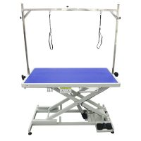 Shernbao Super Low Level Electric Table - Blue