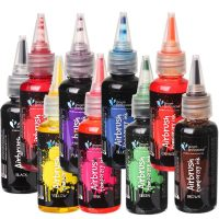 Temporary Airbrush Inks