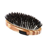 Bass 100% Boar Palm Style Bristle Brush