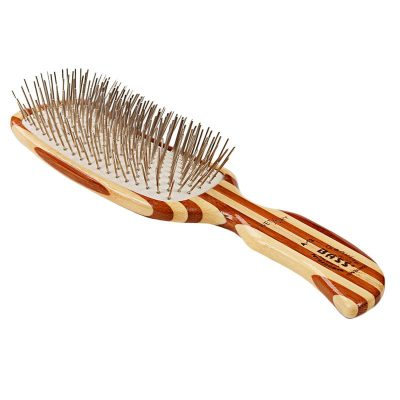 ass Alloy Pin Grooming Brush - S Shaped Medium