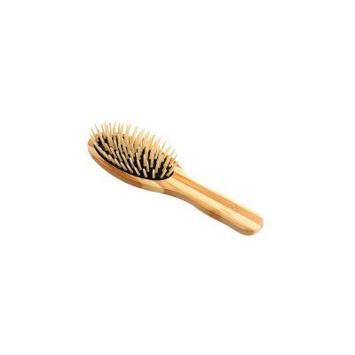 Bass Anti Static Wooden Pin Brush