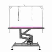 Duke Hydraulic Table by Shernbao - Pink