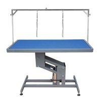 Duke Hydraulic Table by Shernbao - Blue