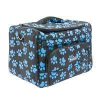 Wahl Groomers Paw Print Bag Black-Blue Paws