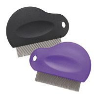 Master Grooming Tools Contoured Grip Flea Comb