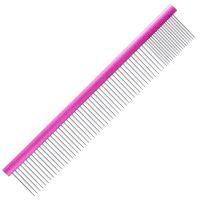 Groom Professional Spectrum Aluminium Comb 80/20 25cm - Dark Pink