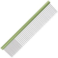 Groom Professional Spectrum Aluminium Comb 80/20 19cm - Lime Green