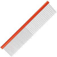 Groom Professional Spectrum Aluminium Comb 50/50 19cm - Orange
