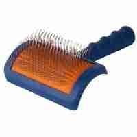 Show Tech Tuffer Than Tangles Slicker Brush - Long Firm Pin - Medium