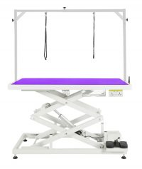 Everest Tall Electric Table by Shernbao - Purple