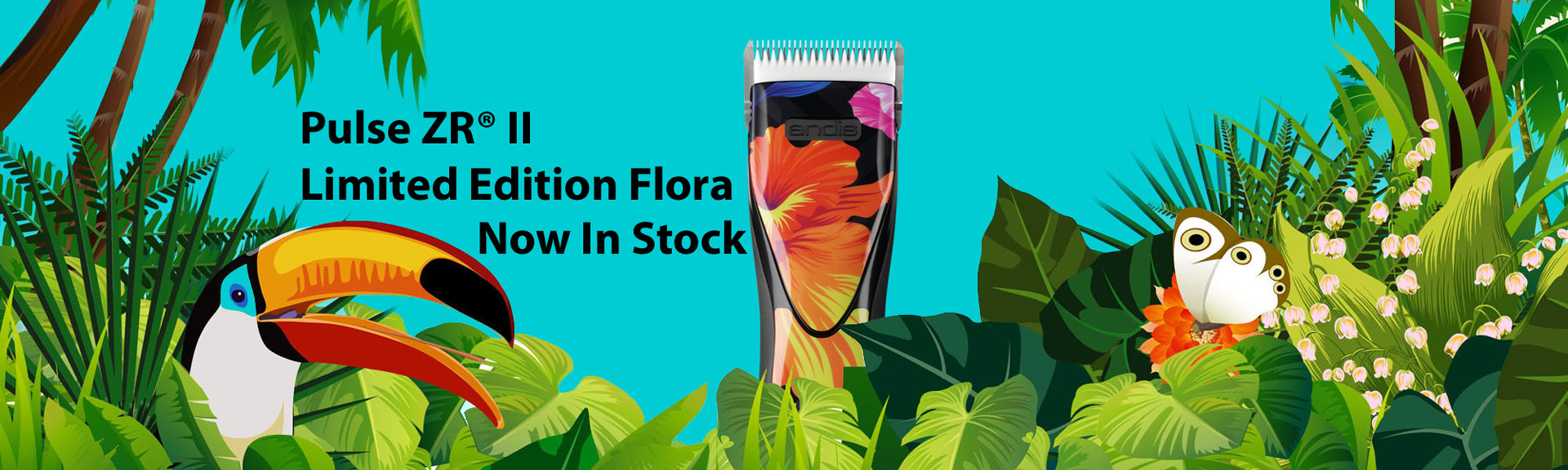 Andis Pulse Flora Limited Edition