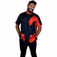 Tikima Vico Cani Shirt - Black/Red